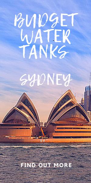 budget water tanks in Sydney